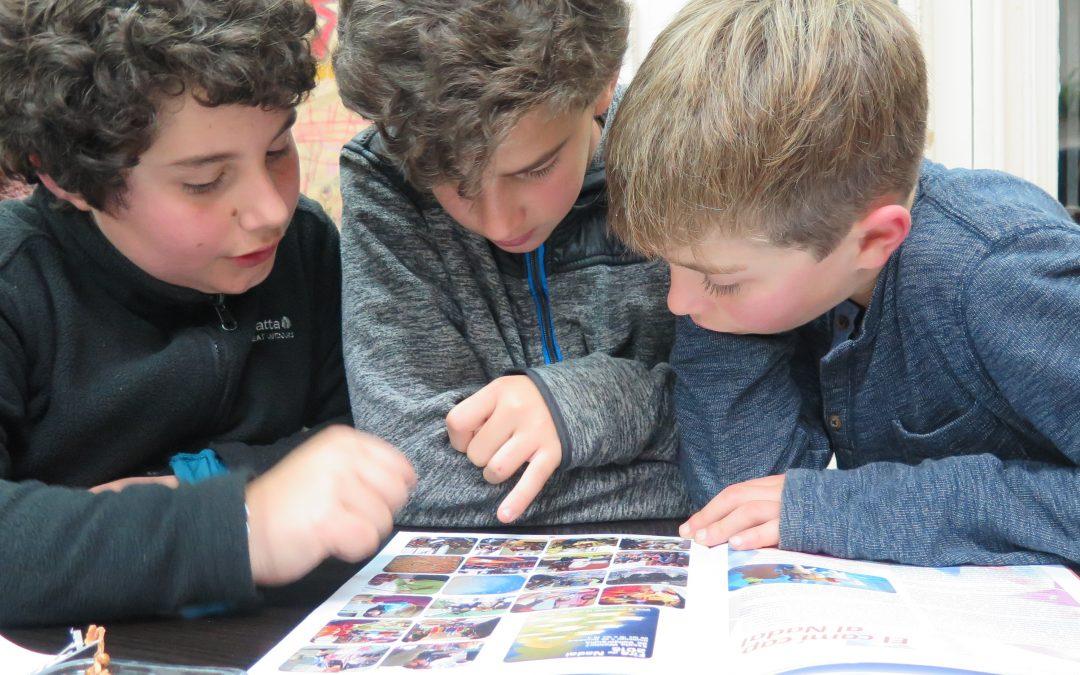 Larailaquí, una finestra que ens mostra al món… un món que s'interessa per l'escola.