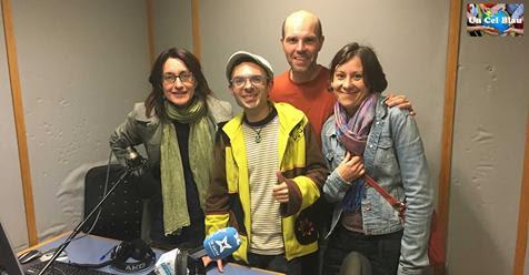 Ens entrevisten a Ràdio Arenys